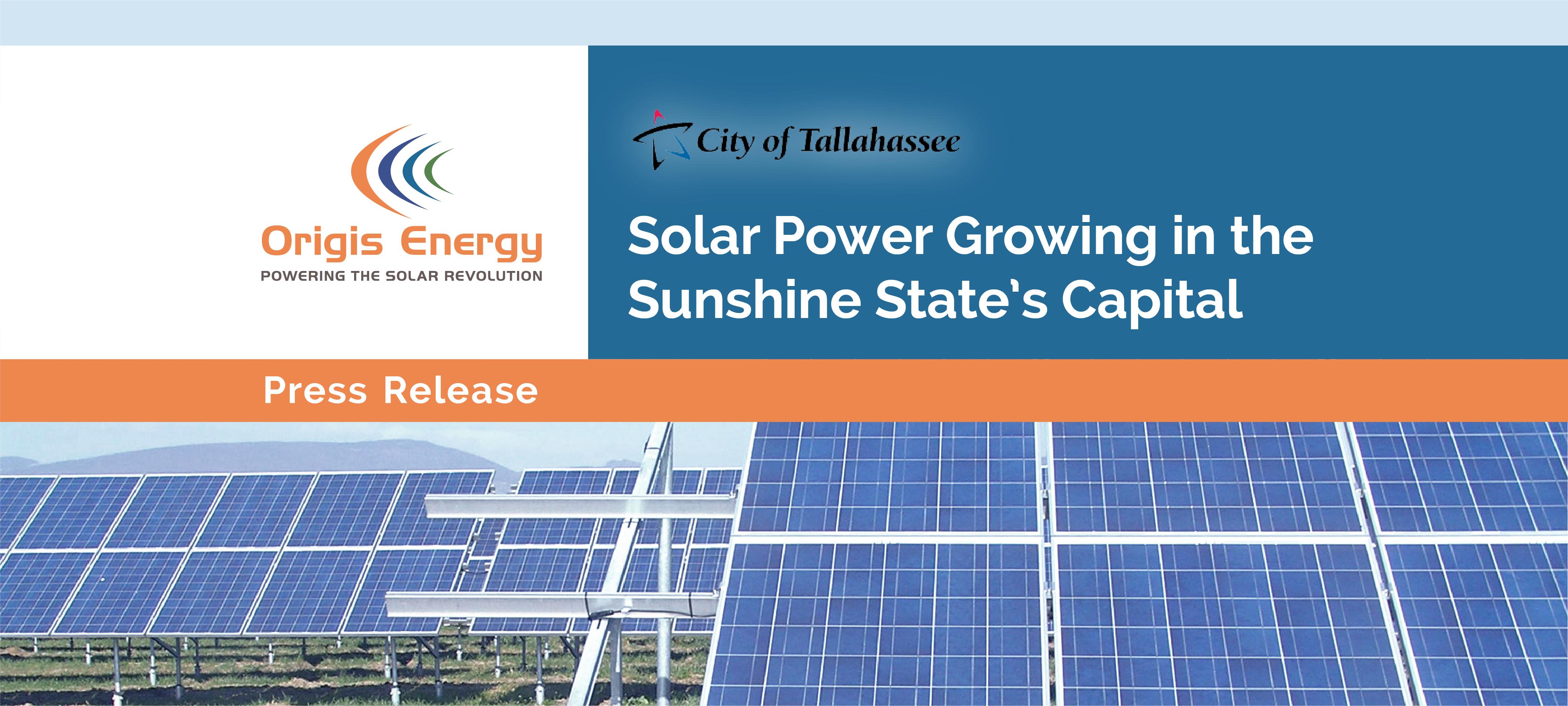 Origis Energy | City of Tallahassee Groundbreaking