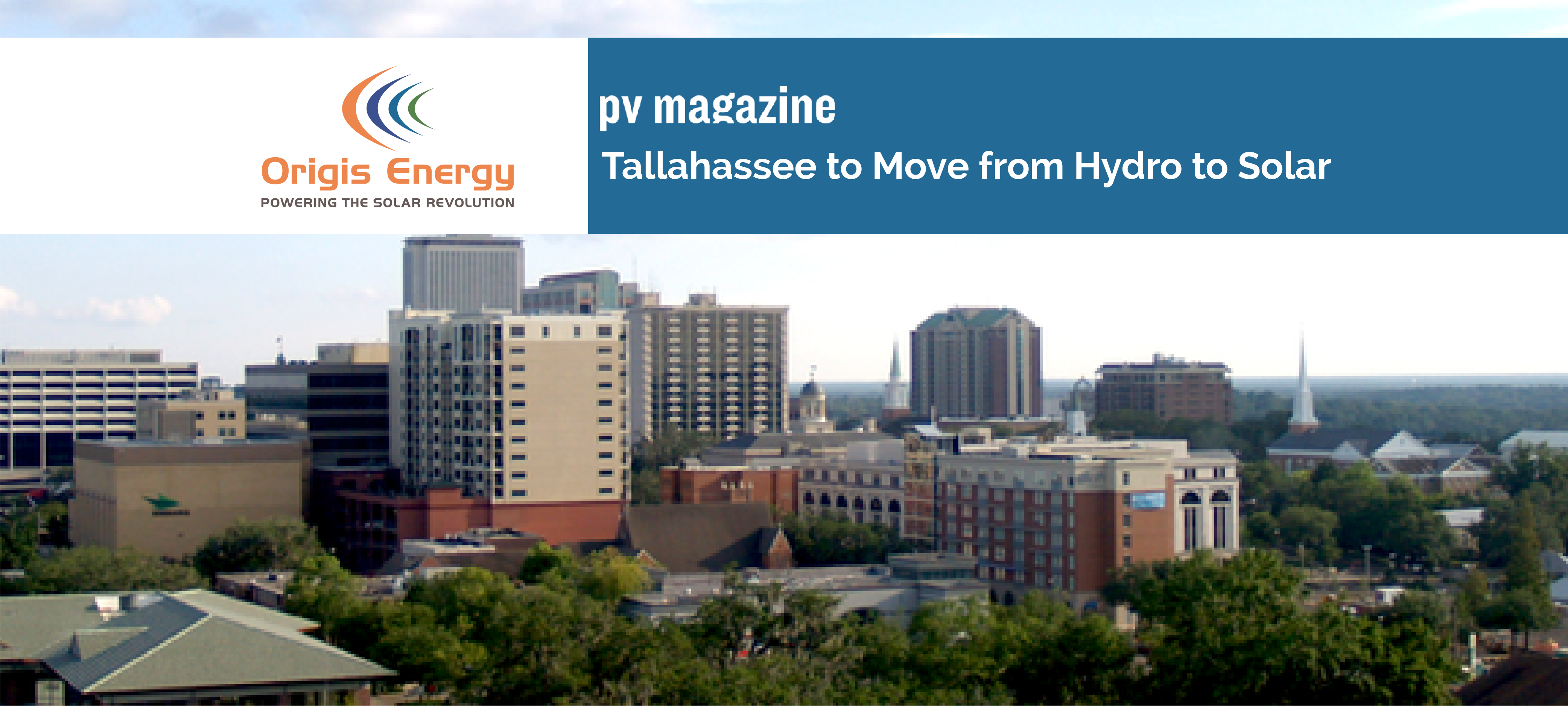 Tallahassee to Move from Hydro to Solar