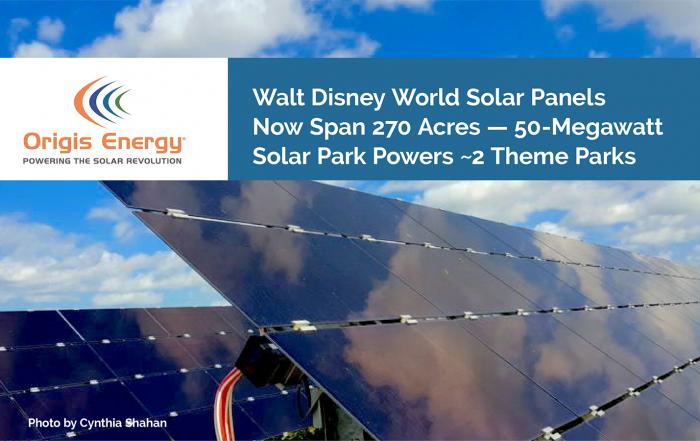 Disney World solar park