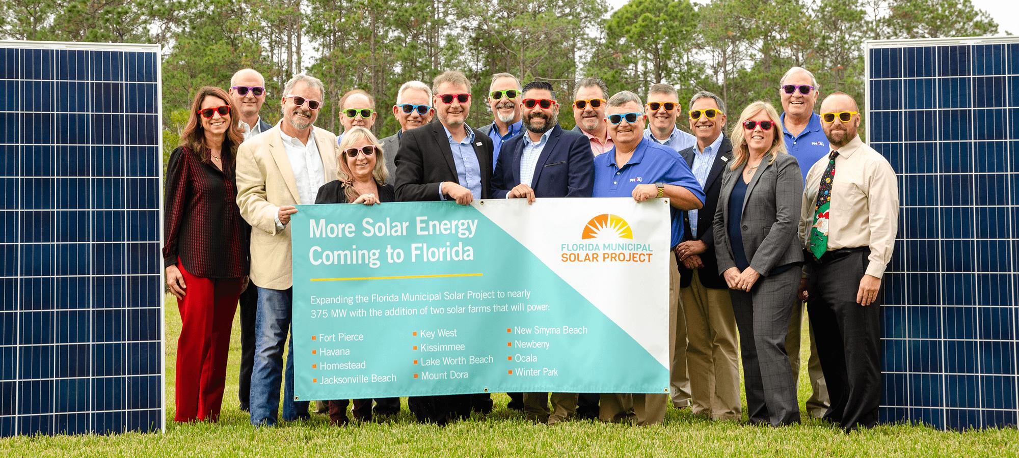 Florida Municipal Solar Project Phase II Announcement