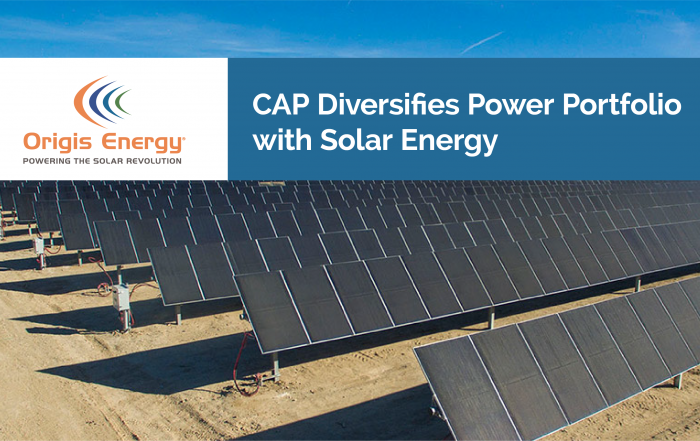 CAP Diversifies Power Portfolio with Solar Energy