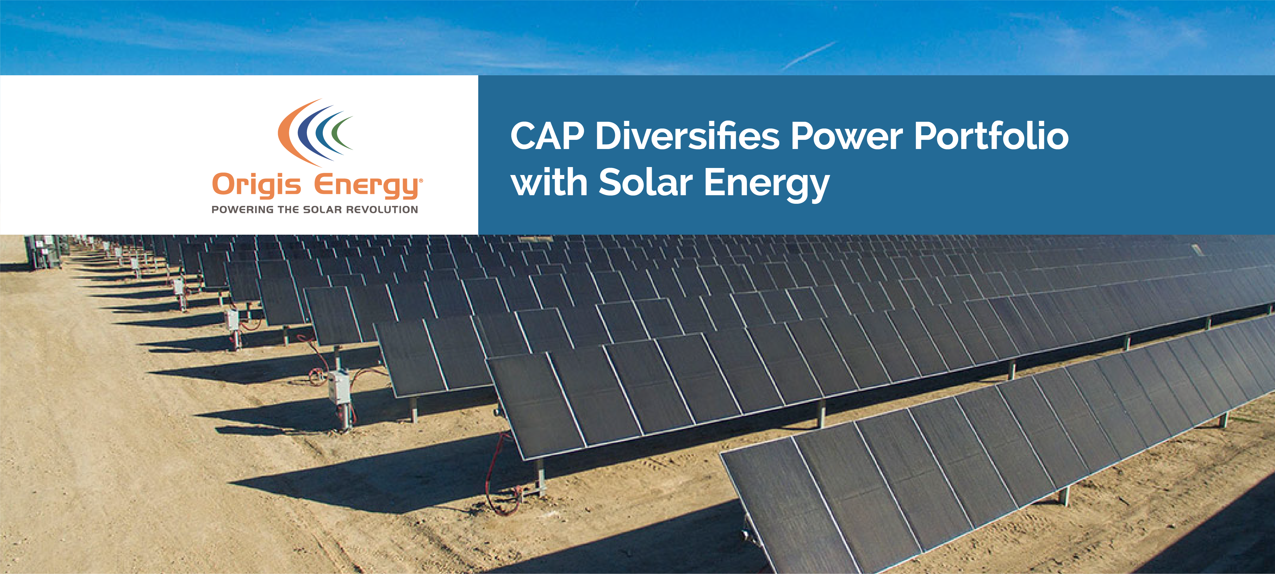 CAP Diversifies Power Portfolio with Solar Energy